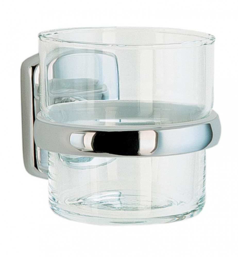 Smedbo Cabin Holder with Glass Tumbler